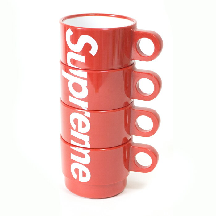 Supreme / シュプリームStacking Cups / スタッキングカップスRed / レッド 赤2018SS 国内正規品 新古品【中古】