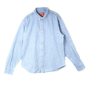 70452f066d Supreme   シュプリーム Denim Shirt   デニム シャツBlue   ブルー 青2018SS 国内正規品