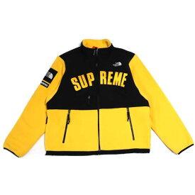 Supreme × The North Face /シュプリーム × ザ ノース フェイスArc Logo Denali Fleece Jacket /アーチロゴ デナリ フリース ジャケットYellow / イエロー 黄【NA11903I】TNF 2019SS 国内正規品新古品【中古】