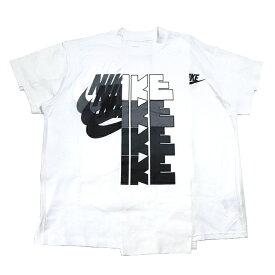 sacai × NIKE / サカイ ナイキWomen's T Shirt /ウィメンズ Tシャツ #2White / ホワイト 白2019AW 国内正規品 新古品【中古】