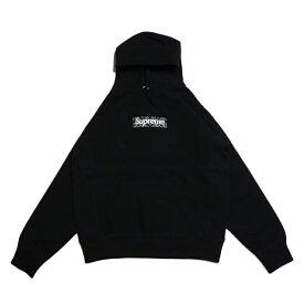 Supreme /シュプリームBandana Box Logo Hooded Sweatshirt /バンダナ ボックスロゴ フーデッド スウェットシャツ パーカーBlack / ブラック 黒2019AW 国内正規品 新古品【中古】