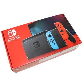 【新型】Nintendo Switch / ニンテンドー スイッチ 本体NEON BLUE/NEON RED / ネオンブルー ネオンレッド2019年8月発売モデル バッテリー強化版任天堂 ニンテンドースイッチ 国内正規品 未使用 新古品【中古】