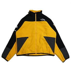 Supreme x THE NORTH FACE / シュプリーム ノースフェイスFleece Jacket / フリース ジャケット【NA71904I】Gold / ゴールド 黄色2020SS 国内正規品 タグ付き 新古品【中古】