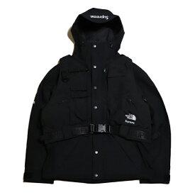 Supreme x THE NORTH FACE / シュプリーム ノースフェイスRTG Jacket + Vest / ジャケット ベスト【NP61903I】Black / ブラック 黒2020SS 国内正規品 タグ付き 新古品【中古】