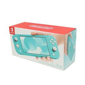 Nintendo Switch Lite / ニンテンドー スイッチライト 本体 TURQUOISE / ターコイズ 青2019年9月発売モデル送料無料 任天堂 スイッチ ライト 国内正規品 未使用 新古品【中古】