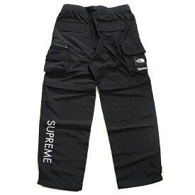 Supreme x THE NORTH FACE / シュプリーム ノースフェイスBelted Cargo Pant / ベルテッド カーゴ パンツ【NP02001I】Black / ブラック 黒2020SS TNF 国内正規品 タグ付き 新古品【中古】