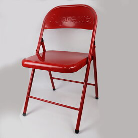Supreme / シュプリームMetal Folding Chair / メタル フォールディング チェアー 椅子Red / レッド 赤2020AW 国内正規品 新古品【中古】