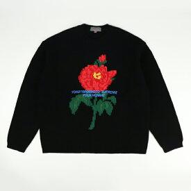 Supreme Yohji Yamamoto / シュプリーム ヨウジヤマモト 山本耀司 Sweater / セーターBlack / ブラック 黒2020AW 国内正規品 新古品【中古】