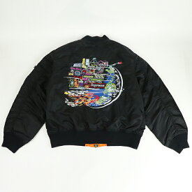 Supreme/ シュプリーム Globe MA-1 Jacket/ グローブ MA-1 ジャケットBlack / ブラック 黒 2020FW 国内正規品 新古品【中古】