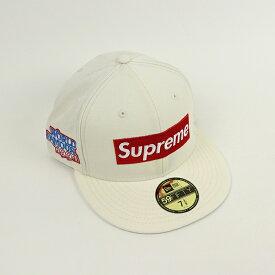 Supreme / シュプリームWorld Famous Box Logo ワールド フェイマス ボックス ロゴ New Era / ニューエラ White / ホワイト 白 ボックスロゴ キャップ2020FW 国内正規品 新古品【中古】