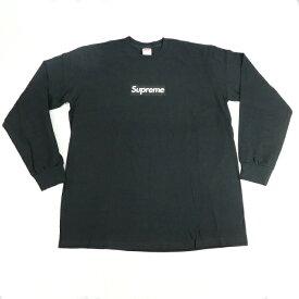 Supreme / シュプリーム Box Logo L/S Tee / ボックスロゴ TシャツBlack / ブラック 黒2020FW 国内正規品 新古品【中古】