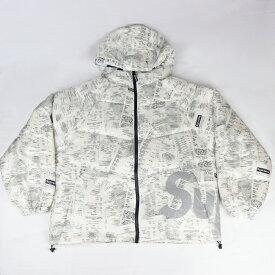 2020AW Supreme / シュプリーム Hooded Down Jacket Receipts / レシート ダウンジャケット 国内正規品 タグ付き 新古品【中古】