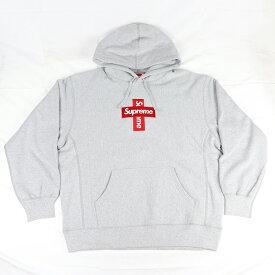 Supreme /シュプリームCross Box Logo Hooded Sweatshirt /クロス ボックスロゴ フーデッド スウェットシャツ パーカーHeather Grey / ヘザー グレー 灰2020FW 国内正規品 新古品【中古】