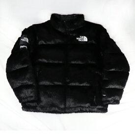 Supreme x THE NORTH FACE / シュプリーム ザ ノースフェイスFaux Fur Nuptse Jacket / フォックス ファー ヌプシ ジャケット BLACK XL / ブラック 黒【ND92001I】2020FW 国内正規品 タグ付き 新古品【中古】