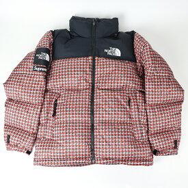 Supreme The North Face Studded Nuptse Jacket Red / シュプリーム ザ ノース フェイス スタッズ ヌプシ ジャケット レッド2021SS 国内正規品 タグ付き 新古品【中古】