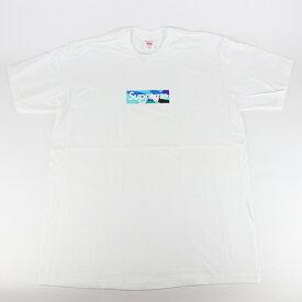 2021SS Supreme x Emilio Pucci / シュプリーム エミリオ プッチBox Logo Tee White/Blue / ボックス ロゴ Tシャツ ホワイト ブルー 白 青2021SS 国内正規品 新古品【中古】