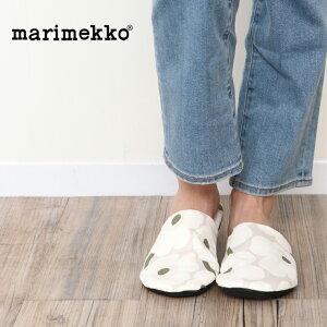 【並行輸入品】marimekko マリメッコ スリッパ Mini Unikko 070280 ルームシューズ 北欧 おしゃれ かわいい 可愛い 送料無料 歩きやすい ウニッコ柄 コットン 綿 すりっぱ ナチュラル