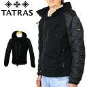【並行輸入品】 TATRAS タトラス メンス ブルゾン ジャケット MTK20S4216 BEROSSO ブルゾンジャケット メンズ 男性 ブランド おしゃれ かっこいい ブルゾン フード フーデッ