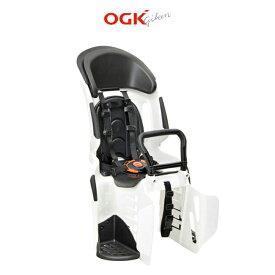 自転車 子供乗せ OGK RBC-011DX3 ホワイト/ブラック(ヘッドレスト付コンフォートうしろ子供のせ)【限定色】【単品送料無料】