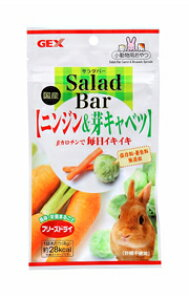 ○【ジェックス】Salad Bar ニンジン&芽キャベツ