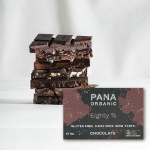 エイティ 80% EIGHTY [ PANA ORGANIC ] パナオーガニック パナチョコレート 80%カカオ オーガニック ローチョコレート