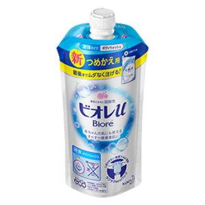 ビオレu ボディウォッシュ やさしいフレッシュフローラルの香り 340ml 詰め替え用