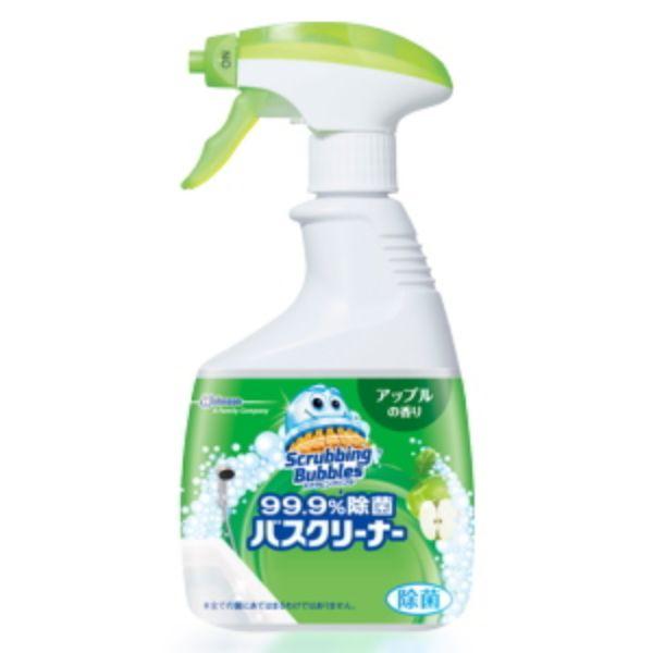 ジョンソン スクラビングバブル 99.9%除菌 バスクリーナー アップルの香り 本体 400ml