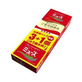 【期間限定】アース製薬 ミューズ石鹸 レギュラー 95g×3+1個