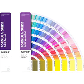 PANTONE フォーミュラガイド 2冊組(コート紙、上質紙) GP1601A Solid Coated & Solid uncoated│直輸入品