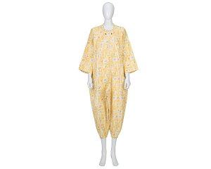 パジャマ 介護 寝巻き ●フドーねまき1型 厚手 竹虎ヒューマンケア介護寝巻き パジャマ 介護用 つなぎ パジャマ 介護用品 衣類