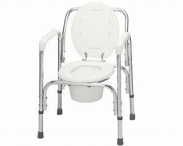 ポータブルトイレ アルミ製トイレチェア T-8203 Boa sorteシリーズ テツコーポレーショントイレ 簡易 手すり付きトイレチェア 介護用品