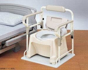 安寿 ポータブルトイレ用フレームささえ 533-070 アロン化成トイレ 手すり トイレ関連 排泄用品 手摺り 高齢者 介護用品