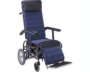 フルリクライニング車椅子 介助用(手動背足連動) 5型 電動座高調節 松永製作所車いす 車イス くるまいす 介助 リクライニング エレベーティング 福祉用具 高齢者 介護用品