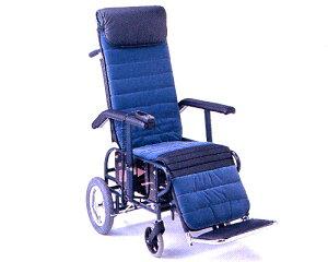 フルリクライニング車椅子 介助用(電動背足連動)6型 松永製作所フルリク 車いす 車イス 介護用品