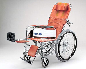 車椅子 介護 スチール自走式車椅子 ND-15 日進医療器車いす 車イス 介護用品 リクライニング式車椅子