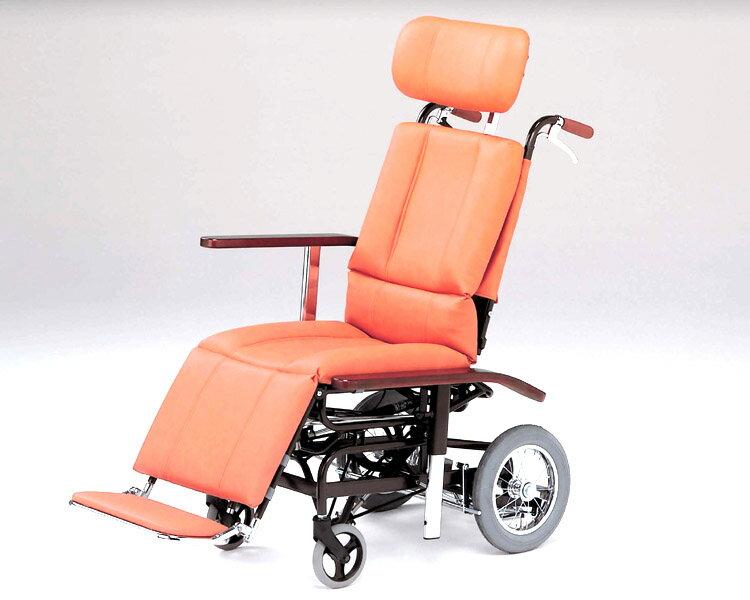 フルリクライニング車椅子 NHR-7 日進医療器 【smtb-kd】【RCP】【介護用品】