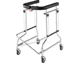折りたたみ式歩行器 アルコー1型 100001 星光医療器製作所歩行器 歩行補助 介護 リハビリ トレーニング 病院 施設 折りたたみ 折畳 高齢者 介護用品