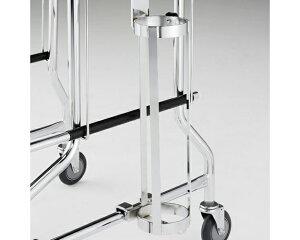 アルコー1型用ボンベ架(500リットルボンベ用) 100006 星光医療器製作所アルコー1型用 オプション 歩行器 酸素ボンベ架 介護用品