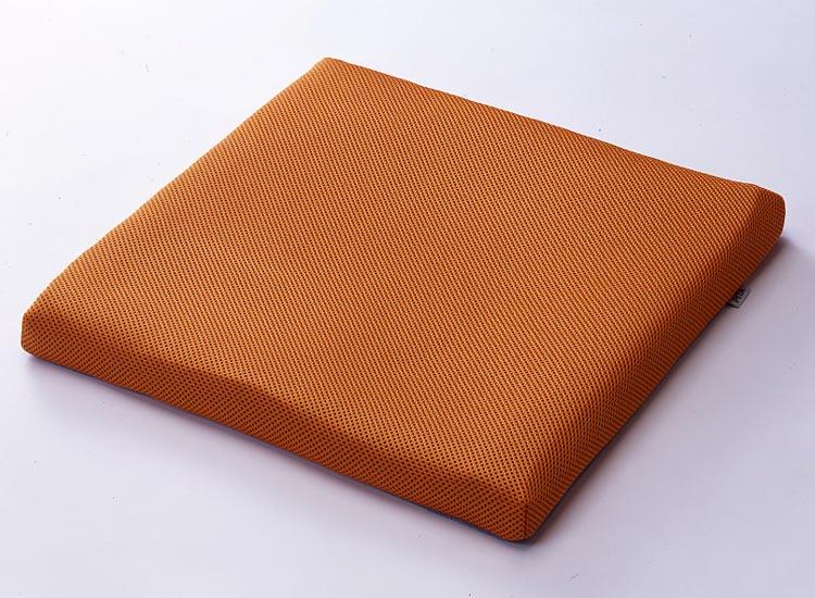 車椅子クッション ピタ・シートクッション35 (35mm厚、単体) オレンジ(PT001C) 日本ジェル車いす クッション 車椅子用 体圧分散 クッションシート 床ずれ予防 高齢者 介護用品