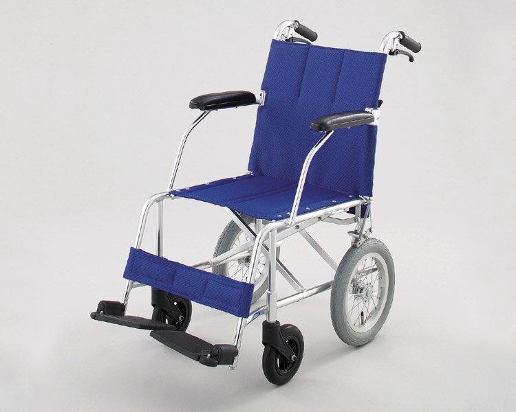 車椅子 軽量 折り畳み アルミ介助式車椅子NAH-209 (背折れ・介助ブレーキ付) 日進医療器 【車椅子 車イス 車いす】【介護用品】【smtb-kd】【RCP】
