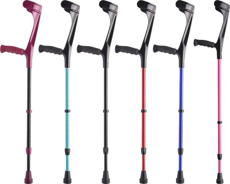 松葉杖 エルゴグリフクラッチ(オープンカフ) プロト・ワン介護用品 リハビリ アルミ製 軽量 松葉杖 杖 ステッキ 歩行補助 goout2017aw