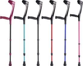 松葉杖 エルゴグリフクラッチ(オープンカフ) プロト・ワン介護用品 リハビリ アルミ製 軽量 松葉杖 杖 ステッキ 歩行補助