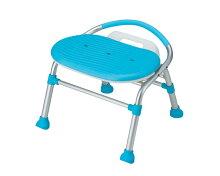 テイコブシャワーチェア折り畳み・背無し/SC02ブルー【介護椅子】
