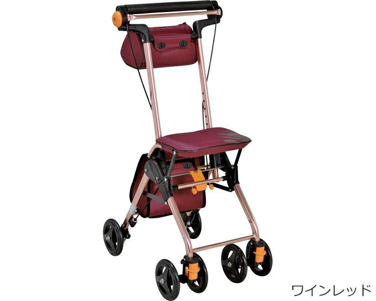 シルバーカー テイコブナノンDX CPS02 幸和製作所シルバーカー 軽量 歩行補助車 手押し車 老人 介護用品 ショッピングカート 4輪
