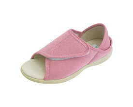 ルームシューズ あし笑顔 オープントゥタイプ KT-2 神戸生絲介護シューズ 介護靴 介護用品 靴 老人 靴 介護用品