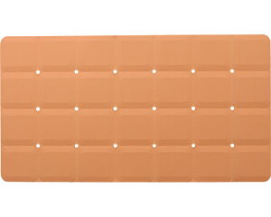 浴槽マット テイコブ バスマット YM03-OR オレンジ 幸和製作所介護用品 入浴補助 入浴用品 バスグッズ 滑り止めマット 転倒予防