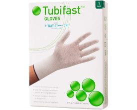 チュビファースト 衣類 手袋 (子供用M〜L/大人用S〜M) 550047 アレルギーヘルスケアアトピー 皮膚炎 アレルギー対策 ドレッシング材の固定
