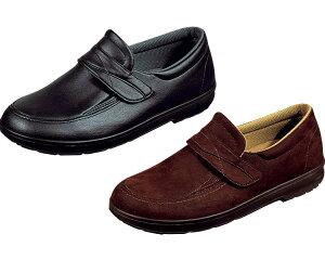 介護シューズ らくらく M001 紳士用 両足販売 ムーンスター介護 靴 リハビリシューズ 室外用 屋外用 メンズ 男性用 ワイド設計 やわらか設定 つま先ゆったり シニア 高齢者 介護用品