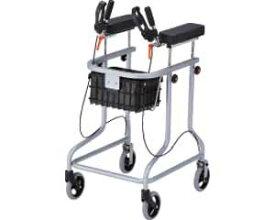 歩行器 アルコー30型 100532 星光医療器製作所歩行車 歩行器 歩行補助 高さ調整 グリップ角度調整 カゴ付 介護 リハビリ トレーニング 屋内向け 高齢者 介護用品