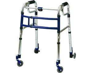 スライドフィット ロータイプ 室内専用 3インチキャスター L-0193C ユーバ産業固定式 幅伸縮 歩行器 折りたたみ 歩行補助 高齢者 介護用品